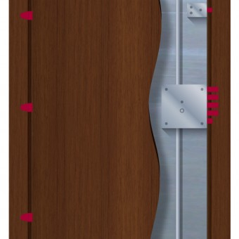 Shielded Laminate Door