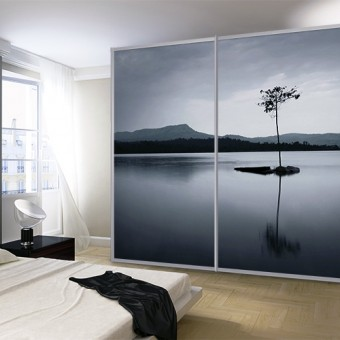 Room, Wardrobes, Sliding, Doors with digital printing
